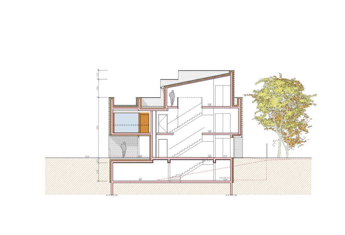 bureaux et logements emmanuelle et laurent beaudouin architectes. Black Bedroom Furniture Sets. Home Design Ideas
