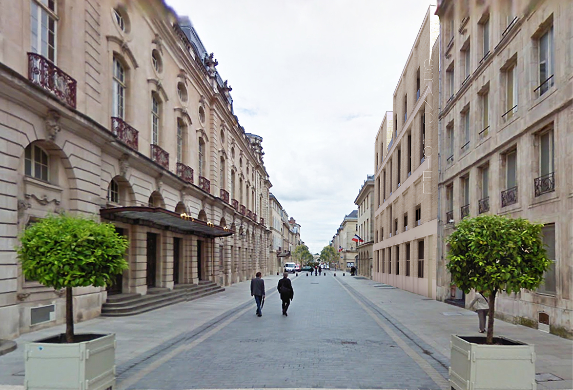 H tel de la reine emmanuelle et laurent beaudouin for Rue catherine opalinska nancy
