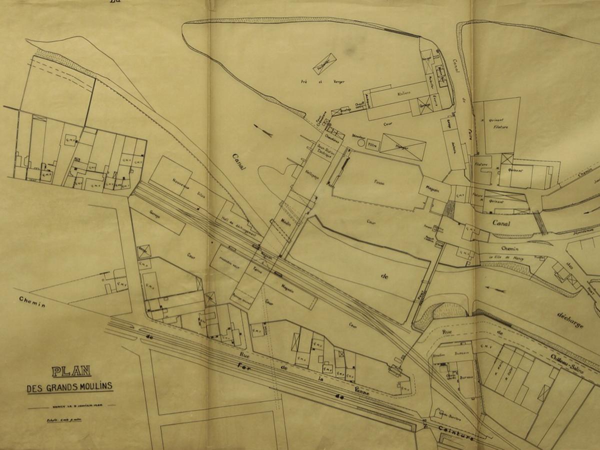Grands moulins emmanuelle et laurent beaudouin architectes for Plan de moulins