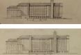 12-1945 GRANDS MOULINS VILGRAIN ESQUISSES JACQUES ET MICHEL ANDRÉ ARCHITECTES