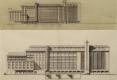 13-1945 GRANDS MOULINS VILGRAIN ESQUISSES JACQUES ET MICHEL ANDRÉ ARCHITECTES