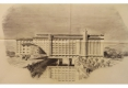 14-1945 GRANDS MOULINS VILGRAIN PERSPECTIVE JACQUES ET MICHEL ANDRÉ ARCHITECTES