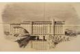 14-1945 GRANDS MOULINS VILGRAIN PERSPECTIVE JACQUES ET MICHEL ANDRÉ ARCHITECTES