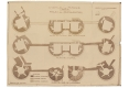 012-HENRI MOREAU 1931 PLAN DES TOURS DU CHATEAU DE PERONNE