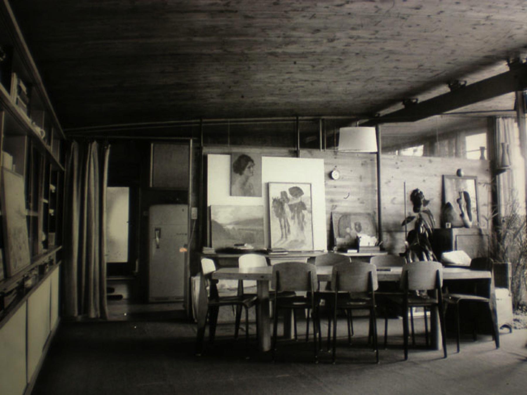 entretien avec jean prouv emmanuelle et laurent. Black Bedroom Furniture Sets. Home Design Ideas