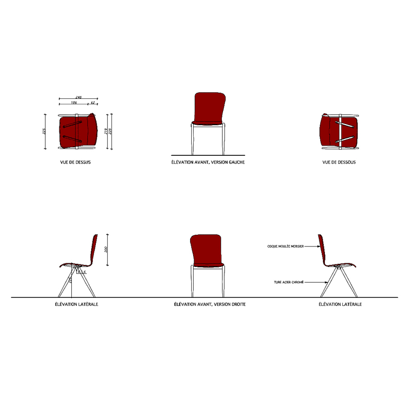 chaises enfants emmanuelle et laurent beaudouin architectes. Black Bedroom Furniture Sets. Home Design Ideas