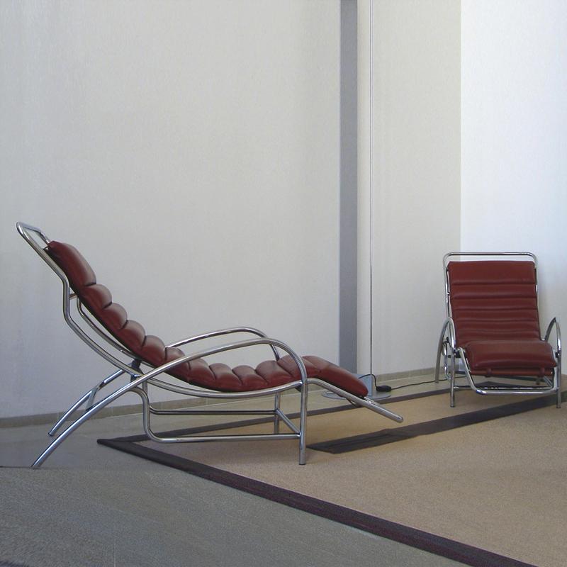 chaise longue emmanuelle et laurent beaudouin architectes. Black Bedroom Furniture Sets. Home Design Ideas