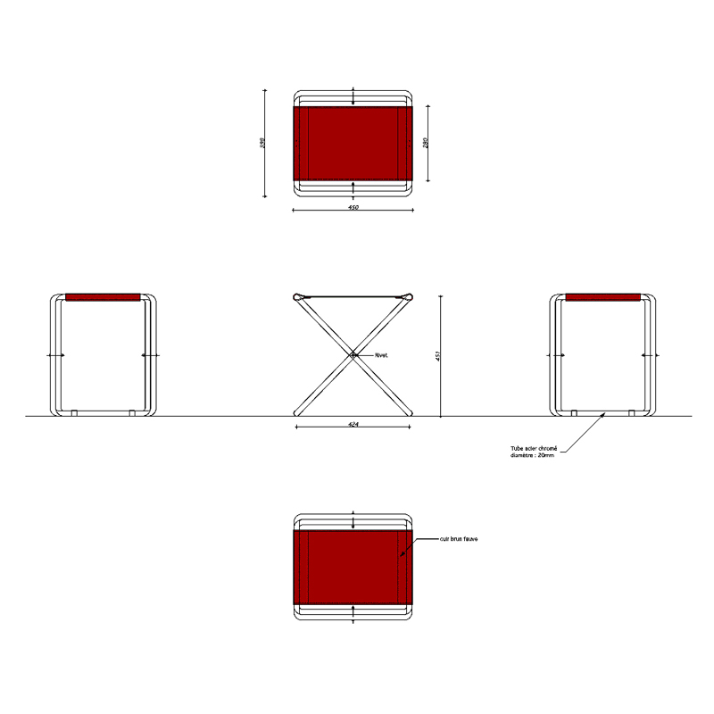 tabouret pliant emmanuelle et laurent beaudouin. Black Bedroom Furniture Sets. Home Design Ideas