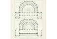 068-1883-1884 CHARLES GARNIER  PLAN DES THERMES DE VITTEL PUBLIÉ DANS LA CONSTRUCTION MODERNE EN 1886
