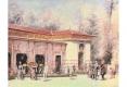 071-1885  LES THERMES DE VITTEL A L'HEURE DE LA BUVETTE