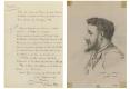 096-                    1888   FRANÇOIS-JOSEPH  NACHON   NOTE  BIOGRAPHIQUE        1886  CHARLES  GARNIER  CARICATURE  DE  SON  COLLABORATEUR  FRANÇOIS-JOSEPH  NACHON