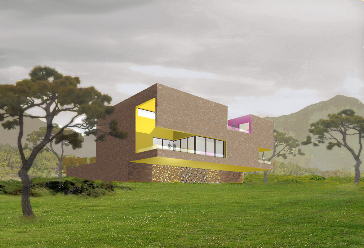 maison jangsoo emmanuelle et laurent beaudouin architectes. Black Bedroom Furniture Sets. Home Design Ideas