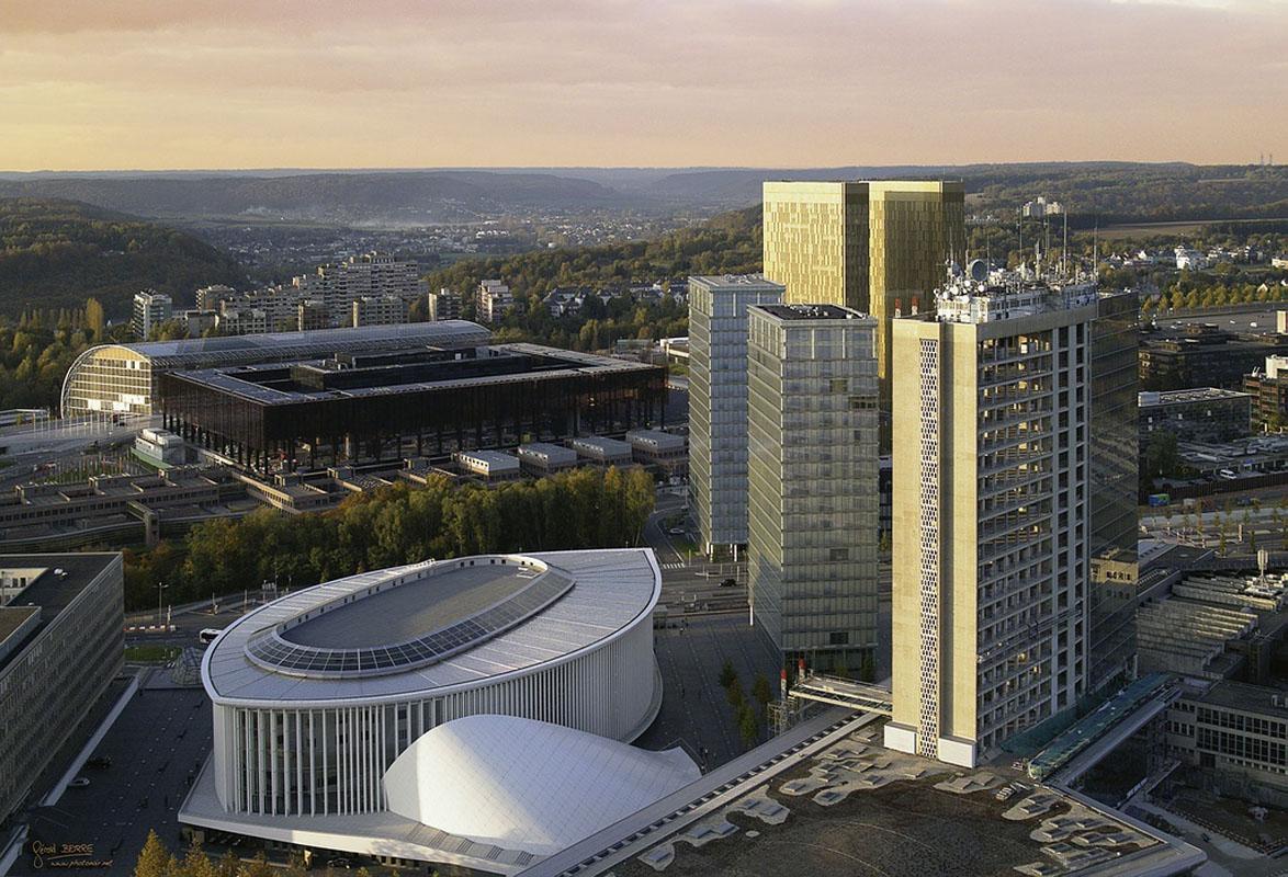 Biblioth que nationale emmanuelle et laurent beaudouin for Architecte luxembourg