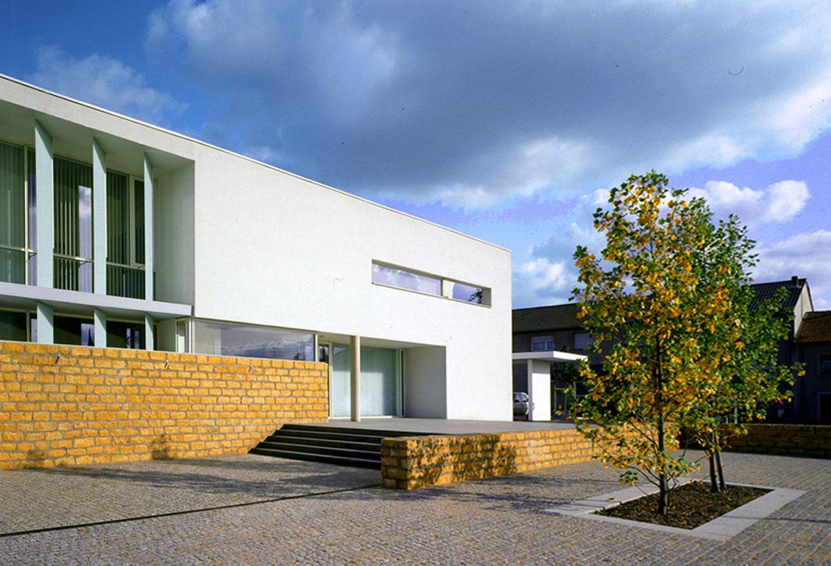 Mairie de bousse emmanuelle et laurent beaudouin for Assistant d architecte