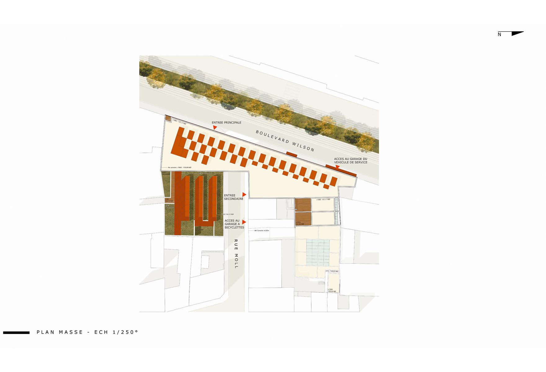 Ecole d architecture emmanuelle et laurent beaudouin for K architecture strasbourg