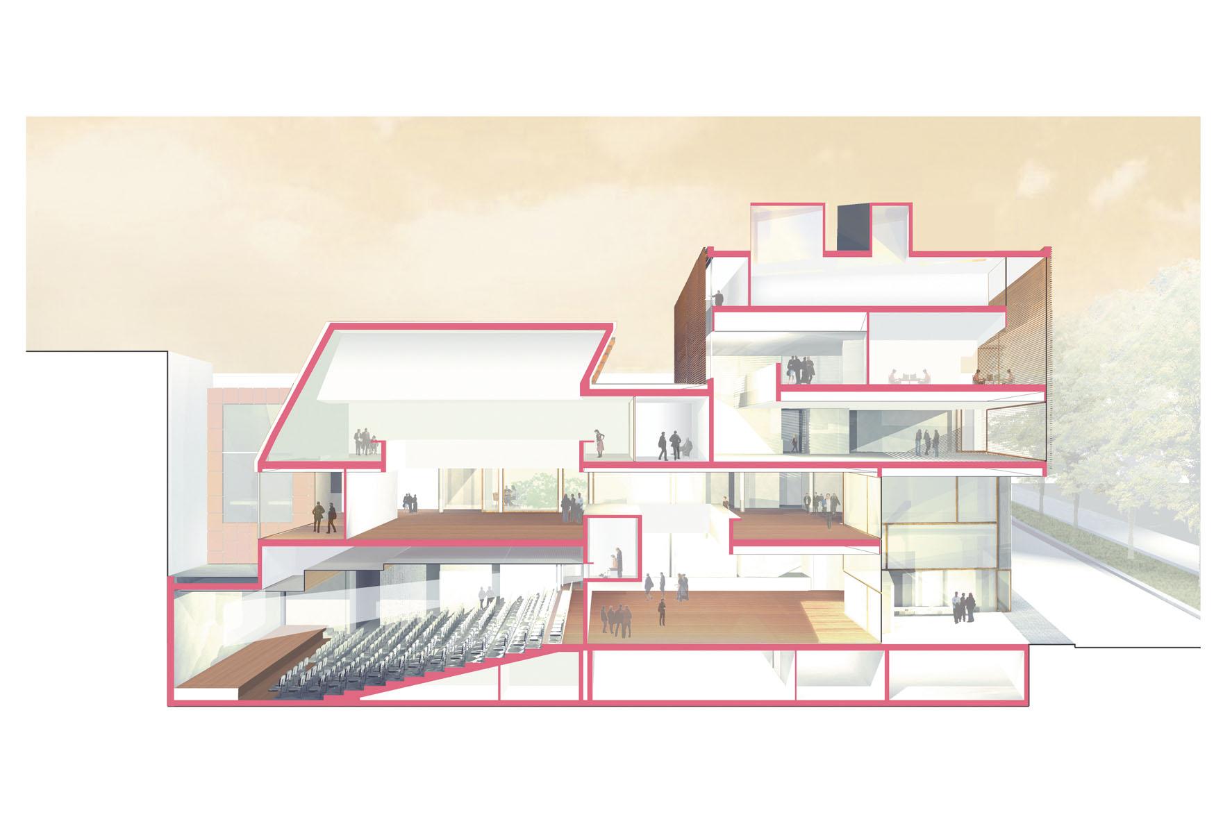 ECOLE D\'ARCHITECTURE | Emmanuelle et Laurent Beaudouin - Architectes