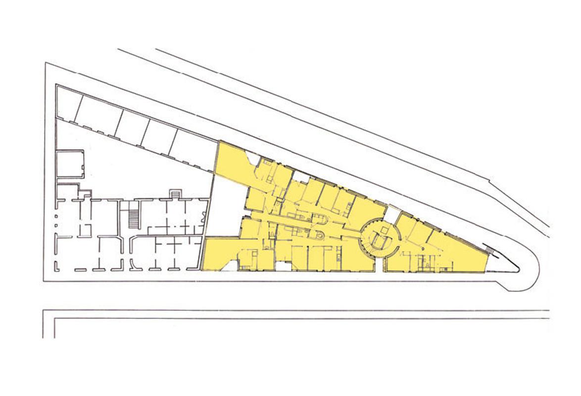 21 logements les tiercelins emmanuelle et laurent for Architecture triangulaire