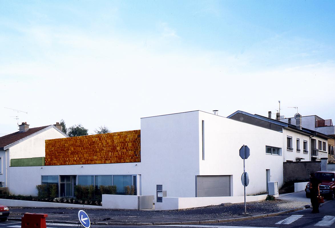 Maison c emmanuelle et laurent beaudouin architectes for Assistant d architecte