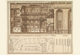 188-1707-1709-FRANCESCO-GALLI-BIBIENA-OPERA-DE-NANCY-COUPE-LONGITUDINALE-ET-DEMI-PLAN-DE-REZ-DE-CHAUSSEE