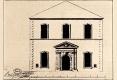 192-1750-ANCIENNE FACADE DU THEATRE DE LA COMEDIE Emplacement de l'Opéra de Léopold rue des Cordeliers