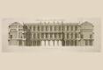 302-1745-GERMAIN BOFFRAND-FACADE-SUR-LA-COUR-DU-PALAIS-DE-NANCY-Mariette's Architecture Francaise. 1727. by Antoine Herisset