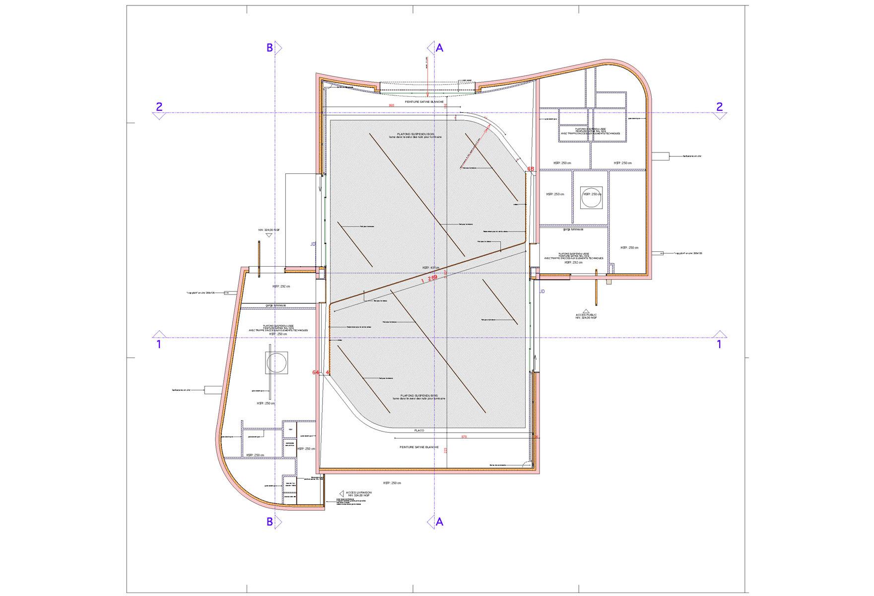 salle des f 202 tes emmanuelle et laurent beaudouin architectes
