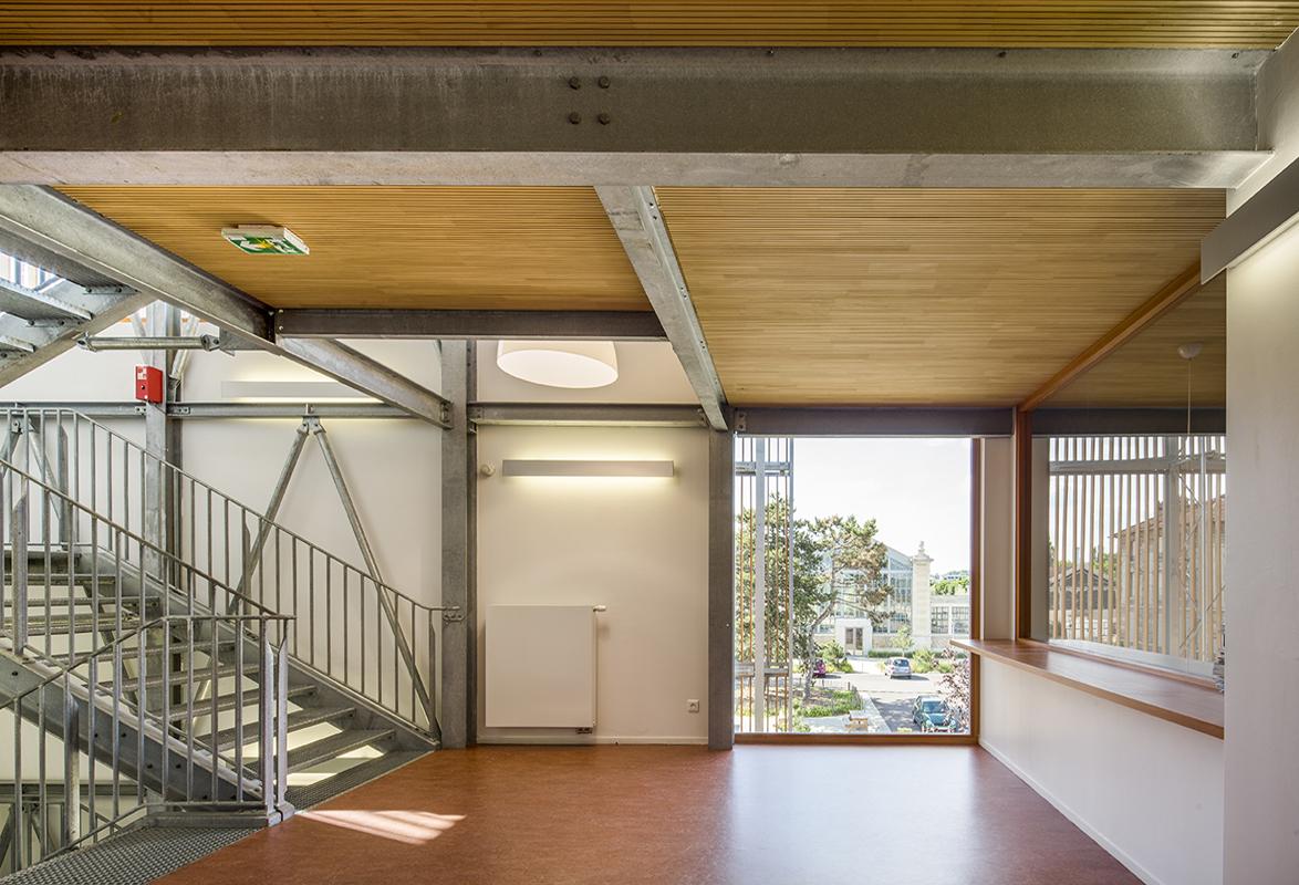 Bureaux de la solorem emmanuelle et laurent beaudouin for Assistant d architecte