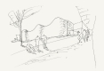 119-LAURENT-BEAUDOUIN-ARCHITECTE-CROQUIS-ECOLE-DE-MUSIQUE-MEDIATHEQUE-TRUCHTERSHEIM